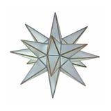 Glass star pendant Royalty Free Stock Photos