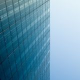 Glass and Steel. Modern architecture, glass and steel Stock Photography