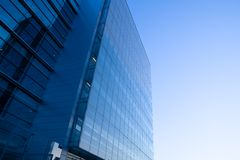 Glass and Steel. Modern architecture, glass and steel Royalty Free Stock Photo