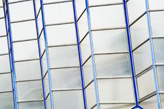 Glass and steel Stock Image