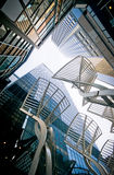 Glass & Steel stock image