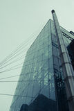 Glass and Steel Buildings at Manhattan Royalty Free Stock Photos