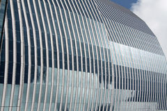 Glass and steel edifice Royalty Free Stock Images