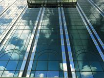 Glass and steel modern architecture Royalty Free Stock Image