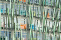 Glass and steel office building Royalty Free Stock Photo