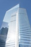 Glass and steel skyscraper la defense Royalty Free Stock Images