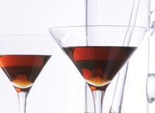 glass stemware Arkivfoto