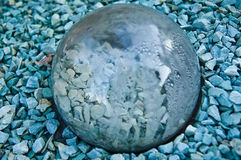 glass sten under Fotografering för Bildbyråer