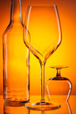 Glass still life Stock Photo
