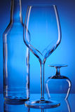 Glass still life Stock Image