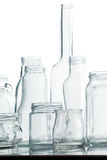 Glass still life Stock Images