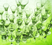 Glass still life Royalty Free Stock Photography