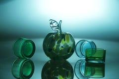 Glass still life Royalty Free Stock Image
