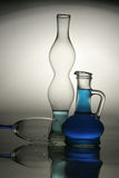 Glass still life Stock Photo