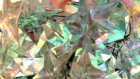 Glass stjärnor Royaltyfri Bild