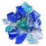 Glass stones Royalty Free Stock Images