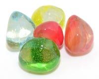 Glass stones Stock Image