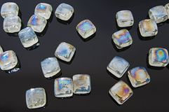 Glass stones Stock Photography