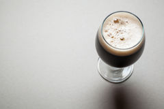 Glass of stout Royalty Free Stock Photo