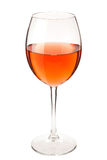 Glass of straw color Wine Royalty Free Stock Images