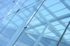 Glass structure Royalty Free Stock Image