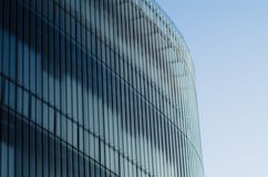 A glass structure of modern architecture building Stock Photography