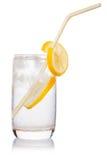 glass sugrör Arkivbilder