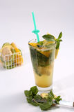 Glass of summer tea Royalty Free Stock Photography