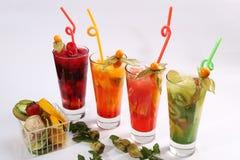 Glass of summer tea Stock Photos