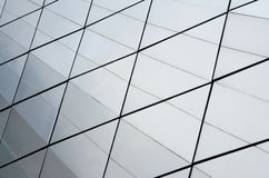 Glass surface of contemporary skyscraper, business concept Stock Photography