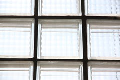 Glass surfaces with light. Royalty Free Stock Images