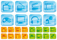 glass symbolsmedel Fotografering för Bildbyråer