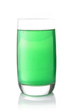 Glass of syrup Stock Photography