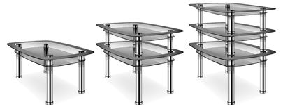 Glass table Royalty Free Stock Image