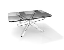 Glass table Royalty Free Stock Photo