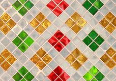 Glass Table of Designs. Glass table colorful of designs Stock Images