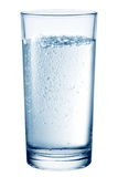 Glass of table-water. Royalty Free Stock Photo
