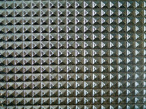 Glass Tabletop Closeup. Macro Showing Repetitive Pattern Royalty Free Stock Images