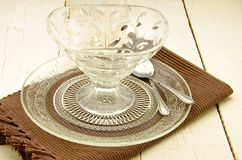 Glass Tableware Royalty Free Stock Photo