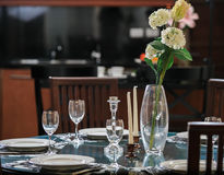 Glass  tableware Stock Photo