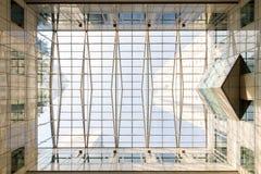 Glass tak Arkivbild