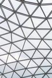 Glass tak av en modern byggnad överlappning Fotografering för Bildbyråer