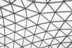 Glass tak av en modern byggnad Royaltyfria Foton