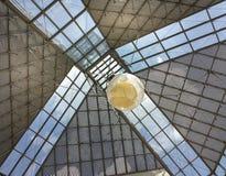 Glass tak av MUDAM-museet i Luxembourg 5 Royaltyfri Foto