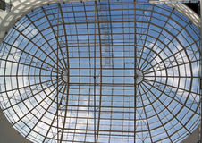 Glass tak för takfönster Arkivbild