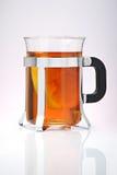 glass tea Royaltyfri Fotografi