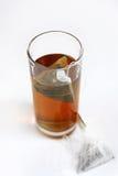 glass tea Arkivbild