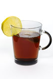 Glass of tea royalty free stock photography
