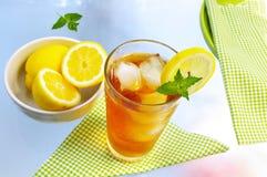 glass tea royaltyfri foto