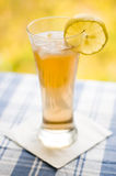 Glass with tea Royalty Free Stock Images